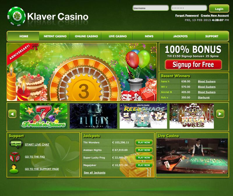 Klaver casino x 1 deck blackjack las vegas